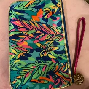 Lily Pulitzer Zip up pouch